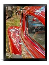 Ready to Drive, Framed Print