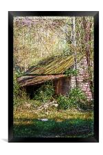 Tin Roof Rusted, Framed Print