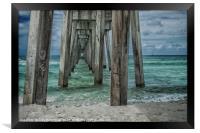 Pier Pressure, Framed Print