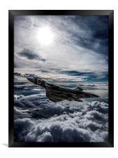 Vulcan Bomber, Framed Print