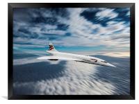 Concorde, Framed Print