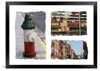 New York Little Italy USA, Framed Print