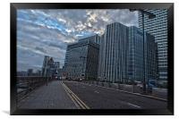 Canary Wharf London, Framed Print