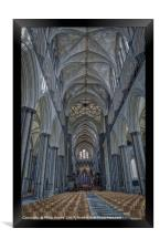 Salisbury Cathedral, Framed Print