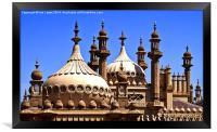 The Prince Regents Seaside Extravaganza, Framed Print