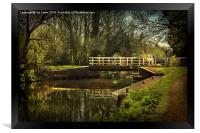 Late Afternoon On The Kennet, Framed Print