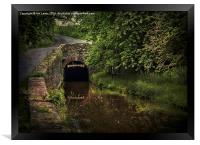 Entrance To The Ashford Tunnel, Framed Print