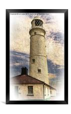 Nash Point East Tower, Framed Print