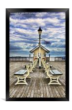 End Of The Pier Show, Framed Print