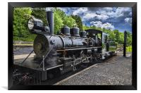 Baldwin Locomotive, Framed Print