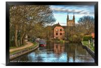 The Kennet and Avon at Newbury, Framed Print