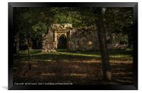 Wallingford Castle, Framed Print
