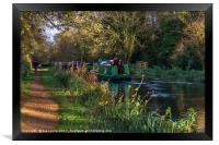 Traffic On The Kennet and Avon Canal, Framed Print