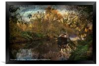 Narrowboat On The Kennet And Avon, Framed Print