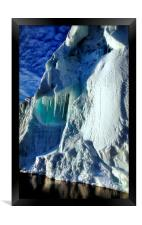 Iceberg Giant, Cape Roget, Antarctica, Framed Print