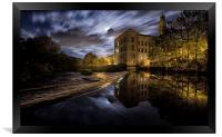 New Mill, Saltaire, Framed Print