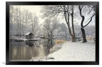 Winter silence, Framed Print