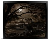Surreal Feeling In Scarborough., Framed Print