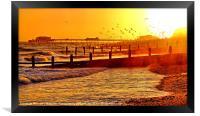 Stormy Sunset, Framed Print