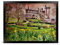 Spring At Arundel Castle, Framed Print