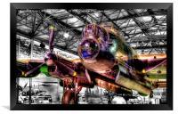 Avro Lancaster 1 - Hendon, Framed Print