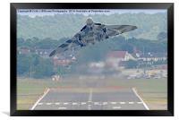 Vulcan To The Skies - Farnborough 2014 1, Framed Print