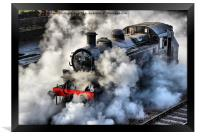 41312 Raises Steam 1, Framed Print