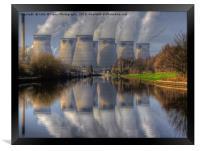 Ferrybridge 2, Framed Print
