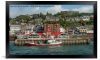 Oban Harbour, Framed Print