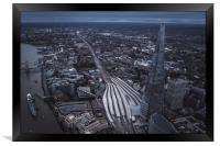 The Iconic Shard, Framed Print