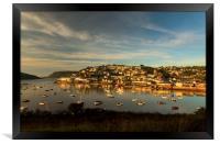 Sunrise, Salcombe Estuary Devon , Framed Print