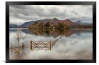The Gate Derwentwater, Framed Print