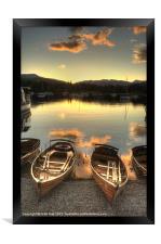 Boats on Windermere, Framed Print