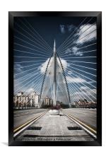 Seri Wawasan Bridge, Framed Print