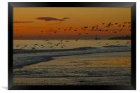 November Sunrise, Framed Print
