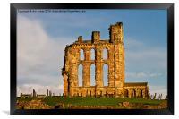 Tynemouth Priory, Framed Print