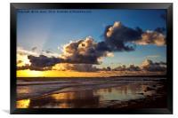 Northumbrian seascape, Framed Print