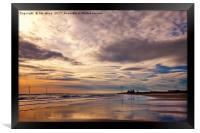 Dawn reflections, Framed Print