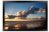 Just after sunrise, Framed Print