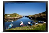 Seaton Sluice Summer Sunshine, Framed Print