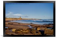 Tynemouth Long Sands, Framed Print