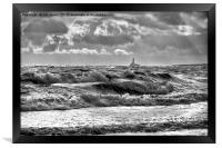 Waves, Framed Print