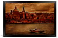 Valletta City of Culture 2018, Framed Print