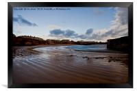 Cullercoats Bay., Framed Print