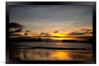 Northumbrian Sunrise, Framed Print