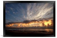 Spectacular September Sunrise, Framed Print