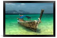 Thai Boat, Framed Print