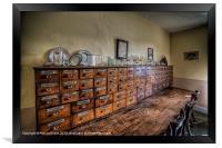 Medicine Cabinet, Framed Print