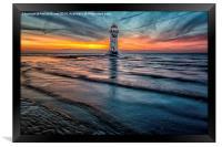 Beach Sunset, Framed Print