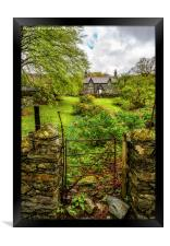 The Garden Gate, Framed Print